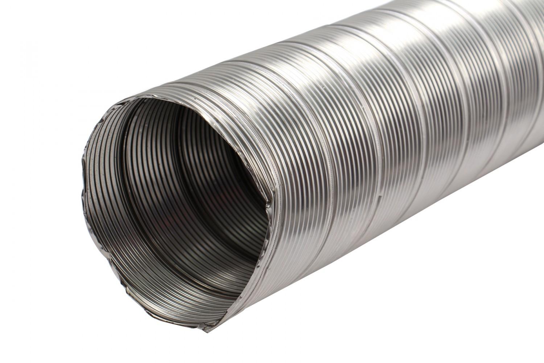 TUB INOX FLEXIBIL 120 mm - 2m