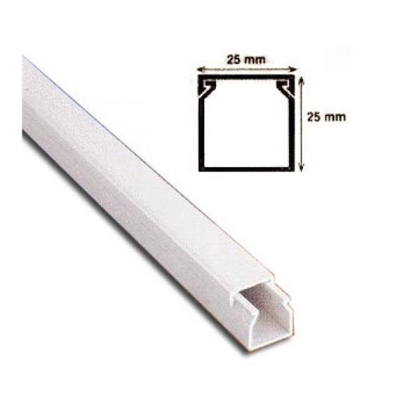 PAT CABLU DIN PVC 25mm x 25mm