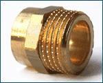 Niplu cupru adaptor ( int - fil ext )
