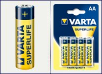 BATERIE VARTA SUPERLIFE MIGNON 2006
