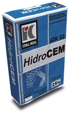 adeziv hidrocem hidroizolant 25kg ital-kol