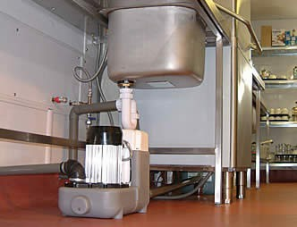 Saniflo sanicom pompa de uz industrial