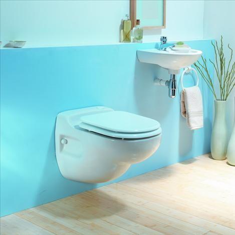 SANIFLO - SANICOMPACT Star WC suspendat cu sistem integrat - uz casnic