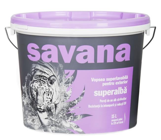 VOPSEA LAVABILA PENTRU EXTERIOR - SAVANA 2,5L