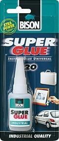 SUPER GLUE INDUSTRIAL BISON 20 GR.