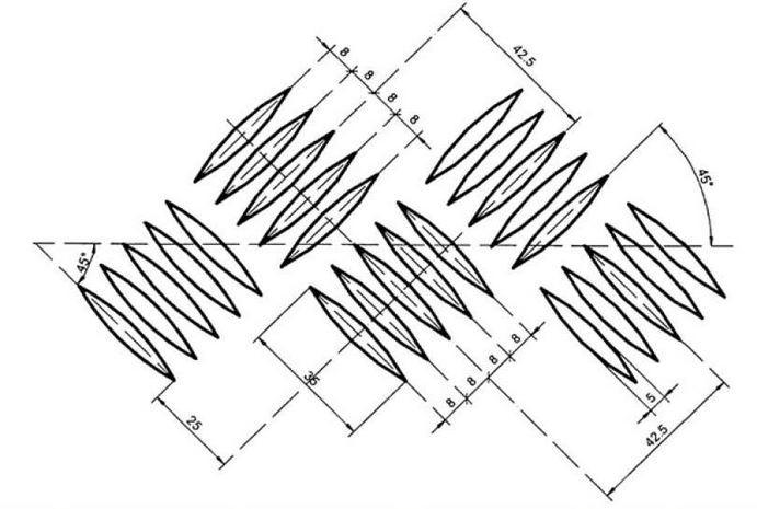 TABLA STRIATA DIN ALUMINIU 2 x 3.5 MM - 1000 x 2000 MM