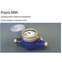 APOMETRU - Contor Apa Rece - 3/4'' - Tip MonoJet Cu Mecanism Umed - Polaris MNK