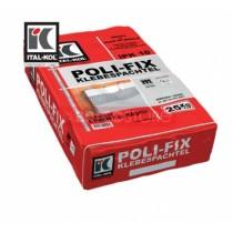 Adeziv si masa de spaclu pentru fixarea si spacluirea placilor de polistiren expandat POLIFIX ITAL-KOL