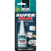 SUPER GLUE INDUSTRIAL BISON 20 GR.