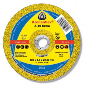 DISC DEBITARE METAL 125*1,6*22 A46 EXTRA