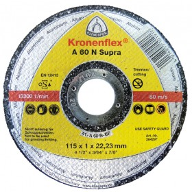 DISC DEBITARE METAL 125*1*22 A60 SUPRA